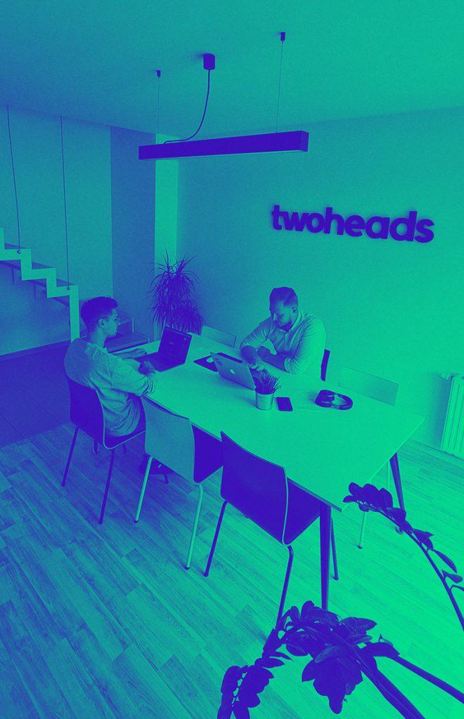 twoheads design ./ code